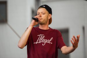 Pripažinimas: lenkiškai repuojantis vilnietis koncertuos festivalyje Lenkijoje
