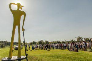 Vilniaus apylinkes papuošė nauja skulptūra