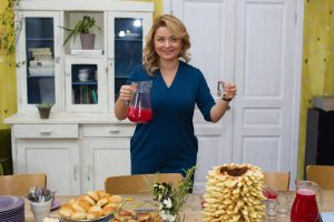 B. Nicholson pristatė lietuvišką desertą – kulinarinių kelionių ciklą