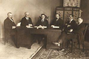 Kaip gimė pirmoji Lietuvos Vyriausybė?