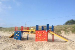Atrakcionas Smiltynėje jau laukia vaikų