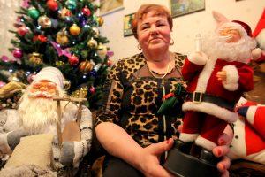 Bute – su dviem šimtais Kalėdų Senelių