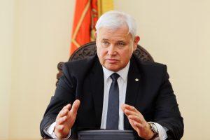 """V. Grubliauskas perrinktas asociacijos """"Klaipėdos regionas"""" prezidentu"""