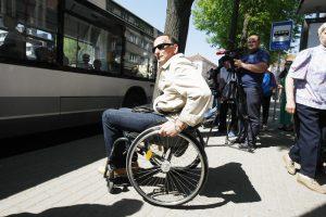 Neįgalieji Klaipėdoje važiuos patogiau