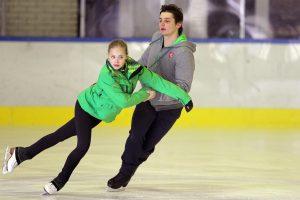 Naują čiuožėjų porą įkvepia žvaigždžių patarimai
