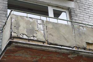 Vaikui mamą užtrenkus balkone, ją vadavo ugniagesiai