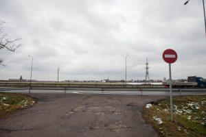Giraitės gyventojai pykstasi dėl kelio
