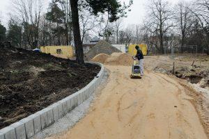 Darbai Poilsio parke – pagal planą