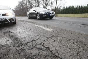 Gatvė tapo iššūkiu vairuotojams