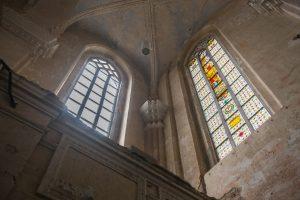 Šv. Jurgio Kankinio bažnyčią papuošė dar vienas vitražas
