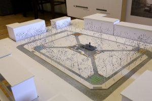 K. Donelaičio aikštei – penki projektai