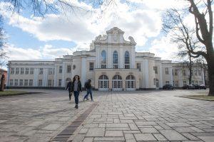 Kauno muzikinio teatro spindesys ir skurdas