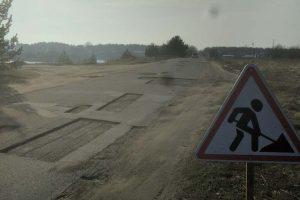 Palangiškiai šiurpsta – keliai liko be asfalto