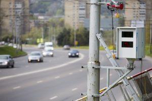 Nuokalnės gatvėje greičio mėgėjus tramdys naujas radaras
