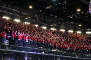 """Rekordinę 500 sirgalių armiją surinkusi """"B Tribūna"""": fanų vienybė įkvepia"""