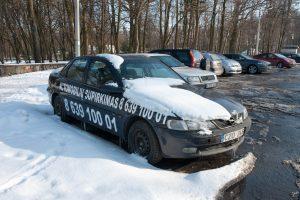 Kauno baubais tapę reklaminiai automobiliai skaičiuoja paskutines dienas