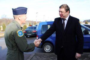 KOP vadai aptarė Baltijos regiono apginamumą ore