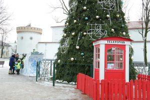 Tauragėje galima paskambinti Kalėdų Seneliui