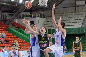 Europos jaunučių čempionate baigėsi pirmojo etapo varžybos