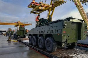 Prie NATO bataliono Lietuvoje prisijungė Kroatijos kariai
