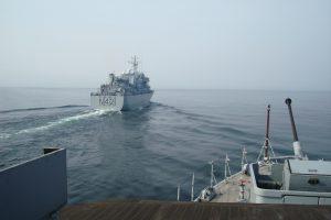 Britai žada atsiųsti karinių laivų į Baltijos jūrą