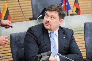 Teisėsauga aiškinsis, ar aplinkos viceministras A.Petkus nebuvo apšmeižtas