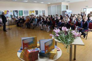 Kauno rajono pirmokai kasmet gauna vis po naują knygą