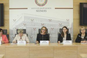 Seimo moterys: tai didelis šansas Lietuvai