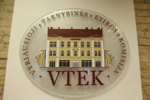 VTEK keturis viceministrus pripažino pažeidusiais įstatymą