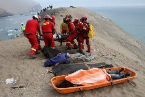 Peru autobuso avarijos aukų padaugėjo iki 48