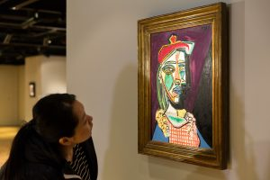 Prieš aukcioną P. Picasso paveikslas apkeliaus kelis miestus