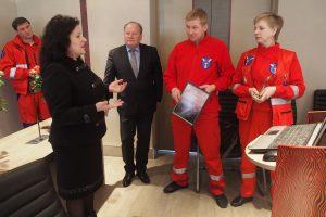 Kauno rajono greitoji pagalba – pasišventusių medikų rankose