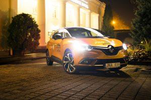 """Lietuva pirmoji išvydo naująjį """"Renault Scenic"""""""