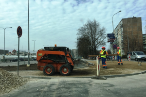 Keisis eismas šalia Kalvarijų turgaus – vyks Rinktinės gatvės remontas