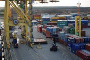 Klaipėdos uoste krova sausį sumenko 15 procentų