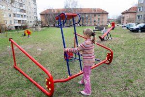 Naujos Klaipėdos vaikų žaidimo aikštelės – nesaugios (atnaujinta)
