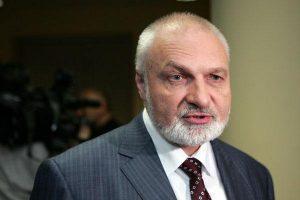V. Mazuronis neatskleidžia savo planų Darbo partijoje