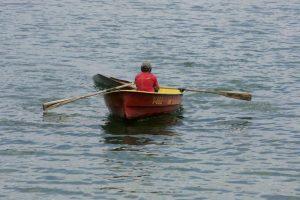 Molėtų rajone išgelbėtas skendęs žvejys