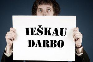 Lietuvos nedarbo lygis mažesnis nei ES vidurkis