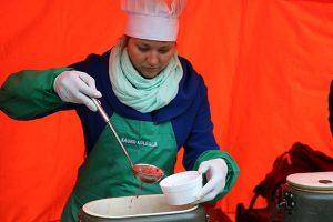 Paragaukite studentų sriubos iš kirvio