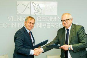 Lietuvos vežėjų sąjunga ir VGTU įtvirtino partnerystę