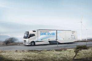 """Naujasis """"Volvo Trucks"""" sunkvežimis sunaudos net 30 proc. mažiau degalų"""