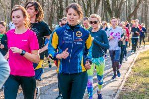 Bėgimo paslapčių kauniečius moko ir būsimas olimpietis