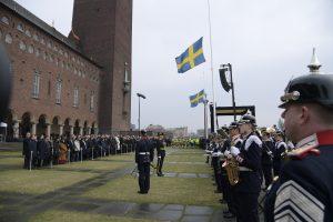Švedija tylos minute pagerbė išpuolio aukas