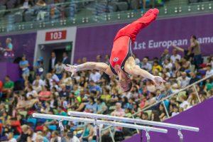 Europos žaidynės: gimnastas R. Guščinas pateko į finalą