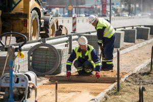 Ištrupėjusius sostinės šaligatvius keičia kelios dešimtys kilometrų naujų takų
