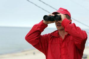 Uostamiesčio paplūdimiuose darbą pradėjo gelbėtojai