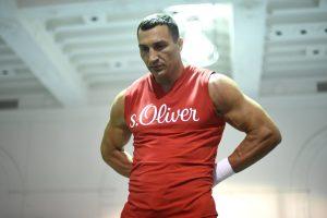 Boksininkas V. Kličko sieks susigrąžinti pasaulio čempiono titulą