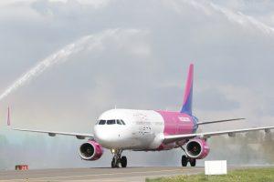 """""""Wizz Air"""" plėtra Lutono oro uoste palies ir Baltijos šalis"""