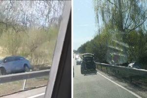 Avarija Ilgakiemyje: mašinų susidūrimas baigėsi smūgiu į medį